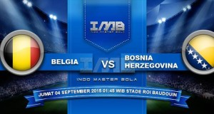 Prediksi Bola Today Belgia vs Bosnia Herzegovina 4 September 2015
